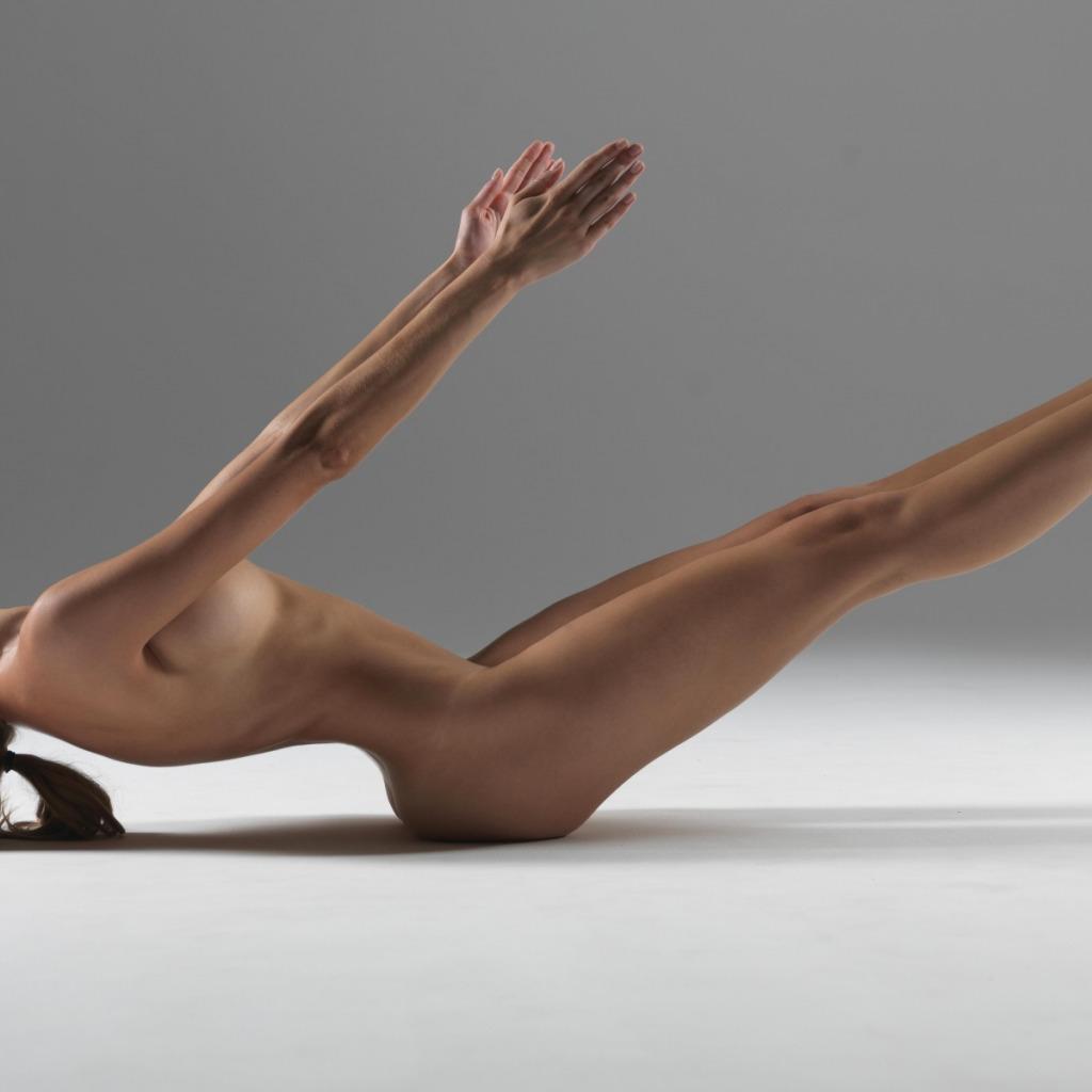 Голые девушки йога
