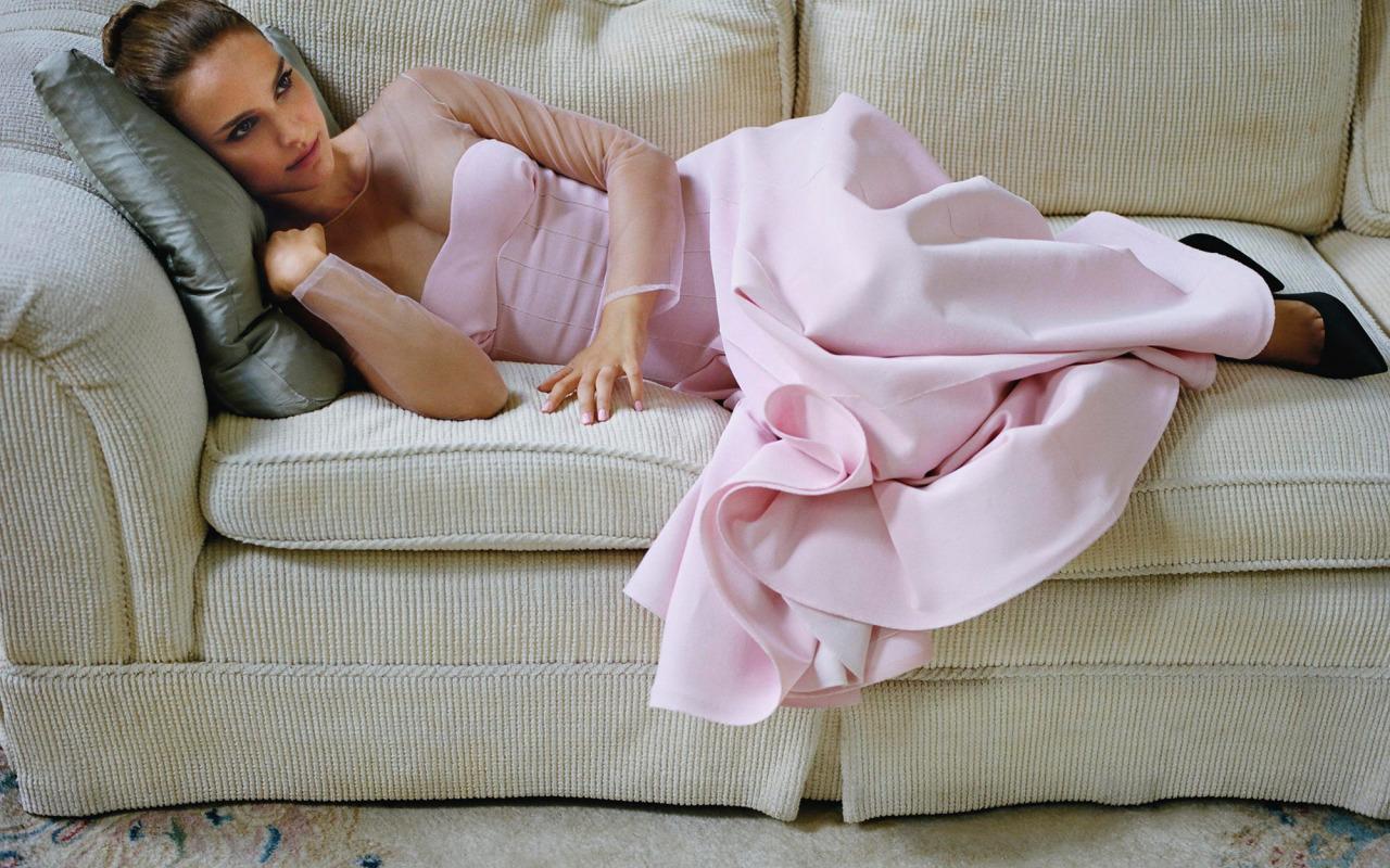 Wrapped Up Natalie Portman