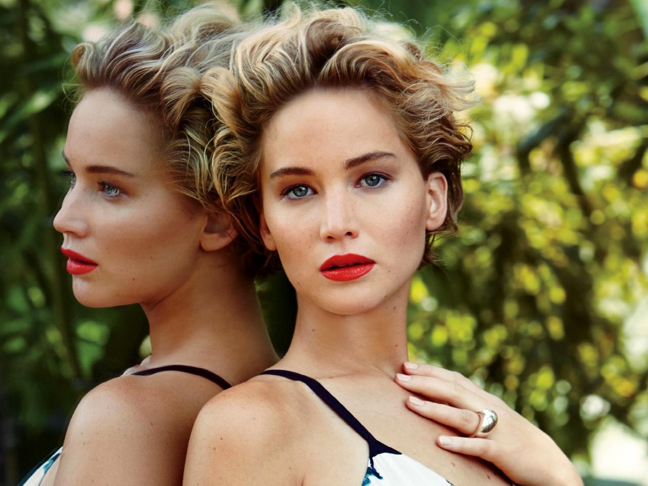 Jennifer lawrence makeup