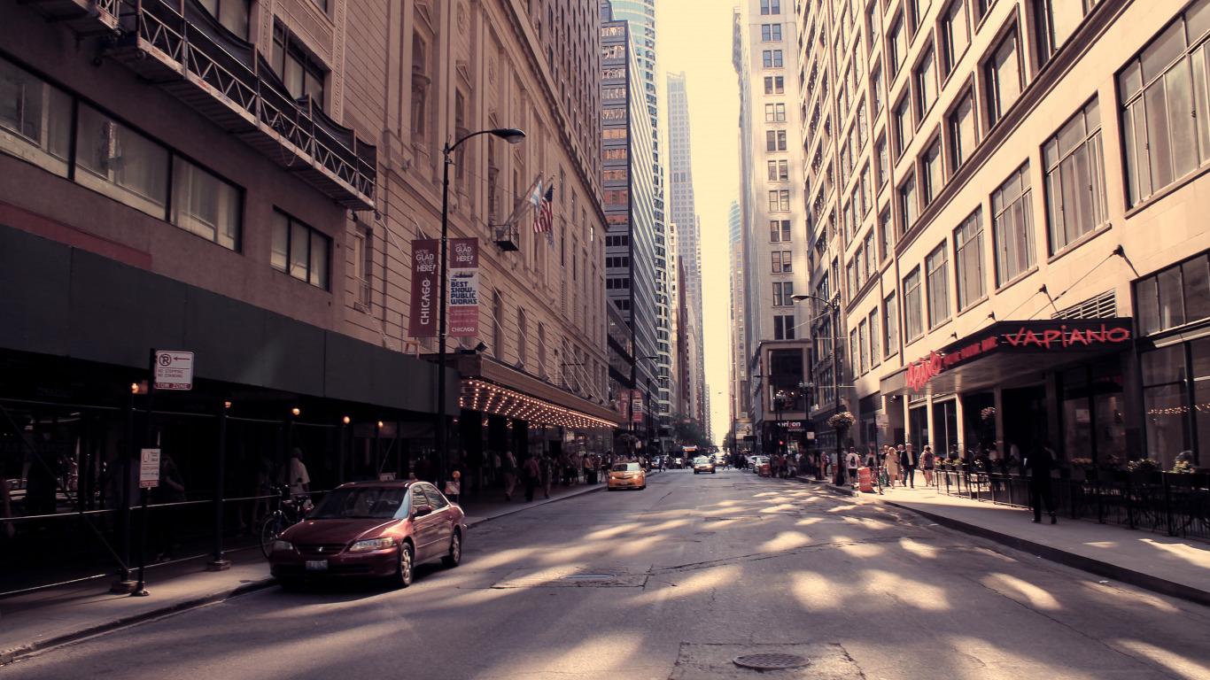 фото американских улиц противном