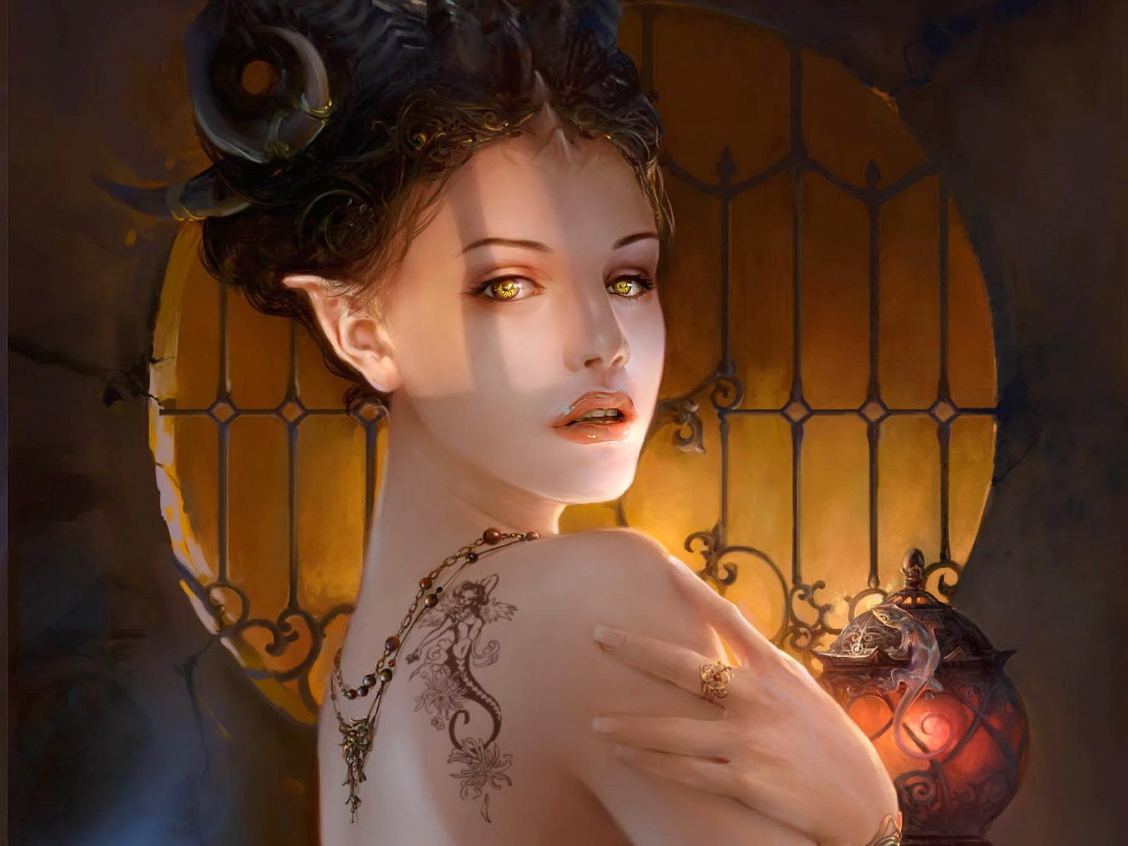 Elven fantasy women erotic clip