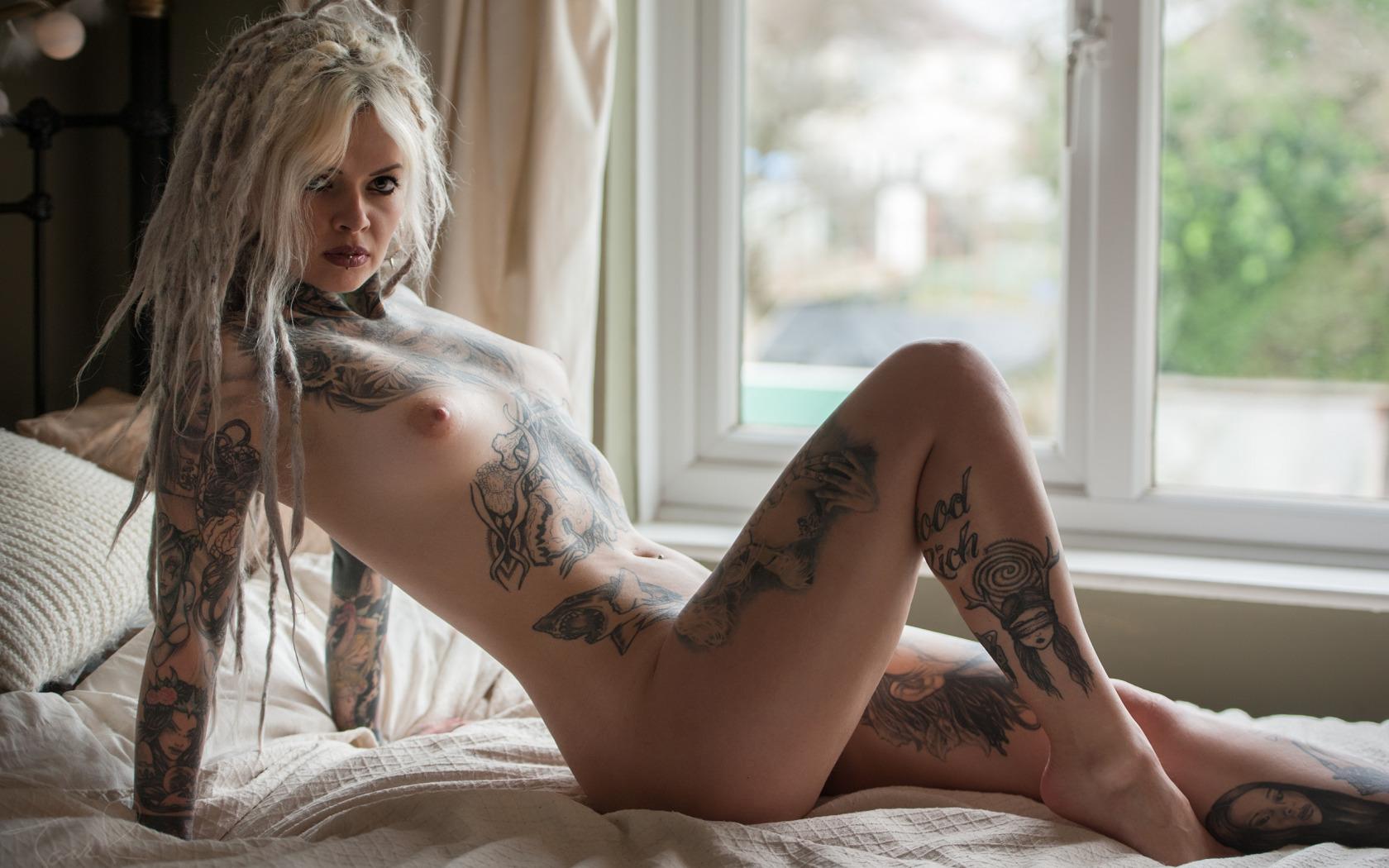 Naked extreme tattoo girls #9