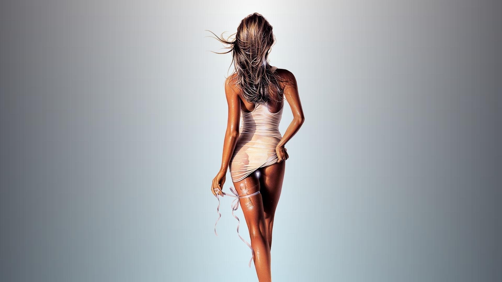 Фигура девушки с зади 18 фотография