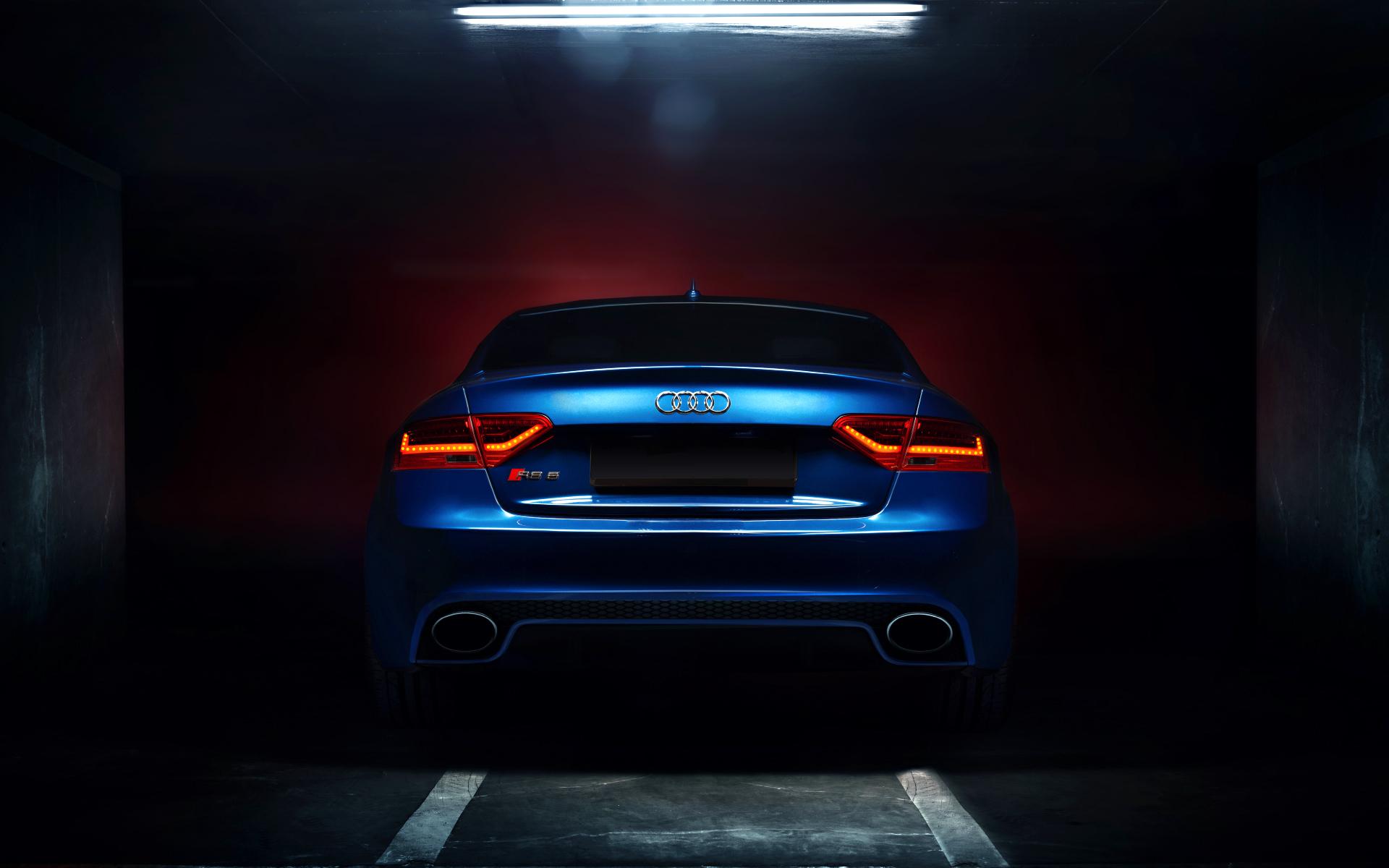 черный автомобиль Audi RS 5  № 3425023 загрузить