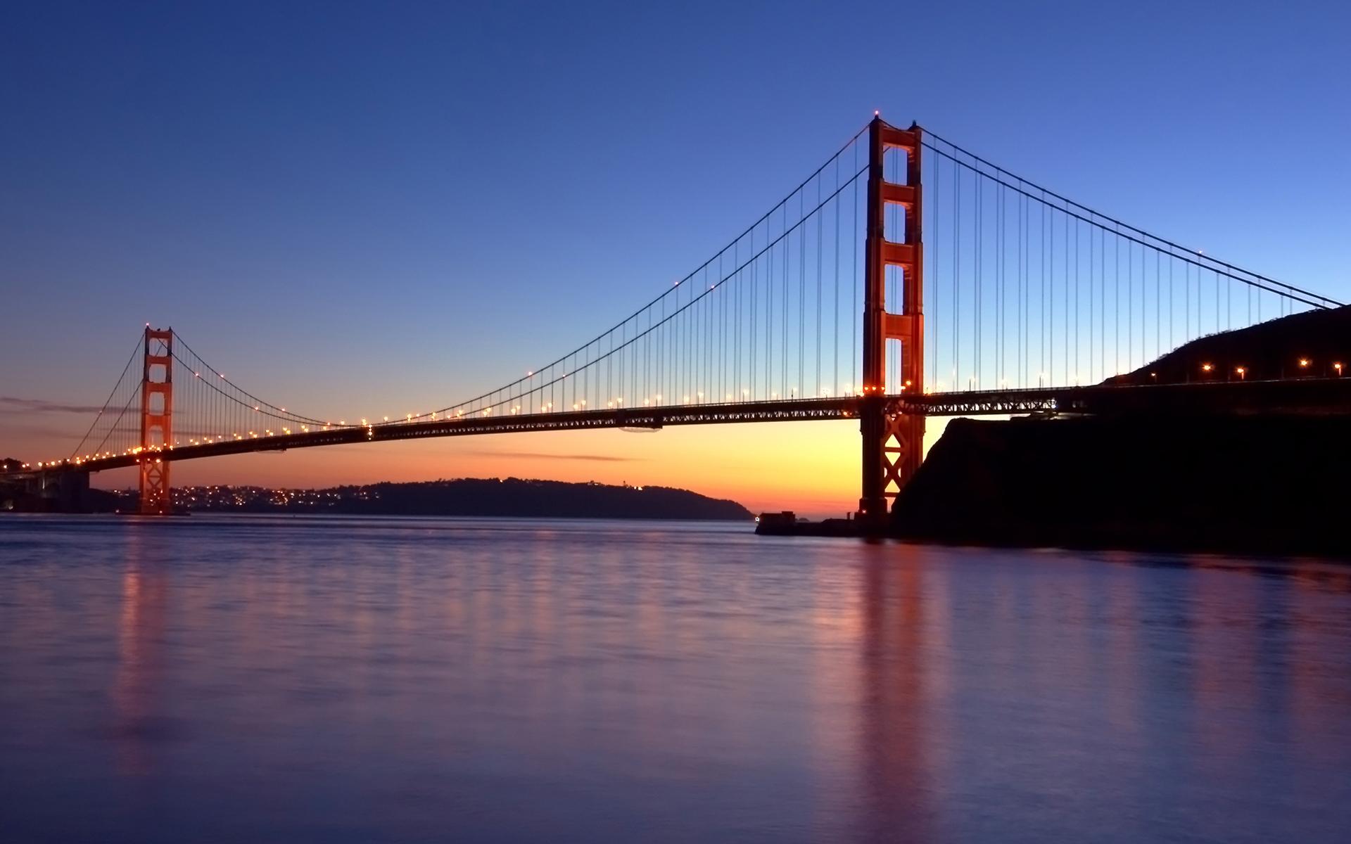 Город мост через реку  № 3713113  скачать