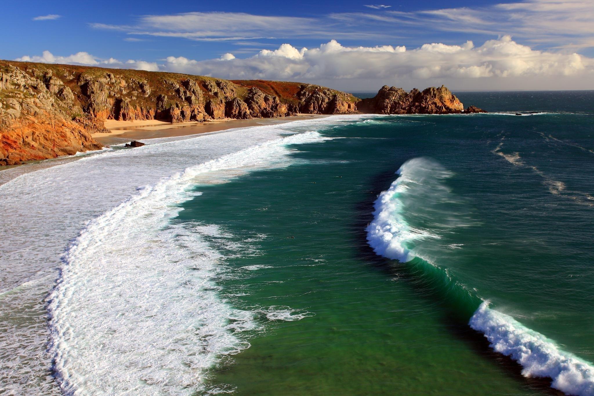 берег волны море  № 251046 загрузить