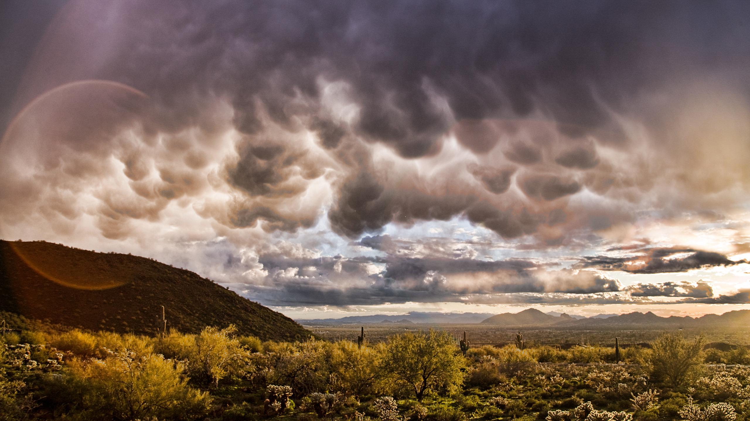 Небо горы блики  № 3013021  скачать