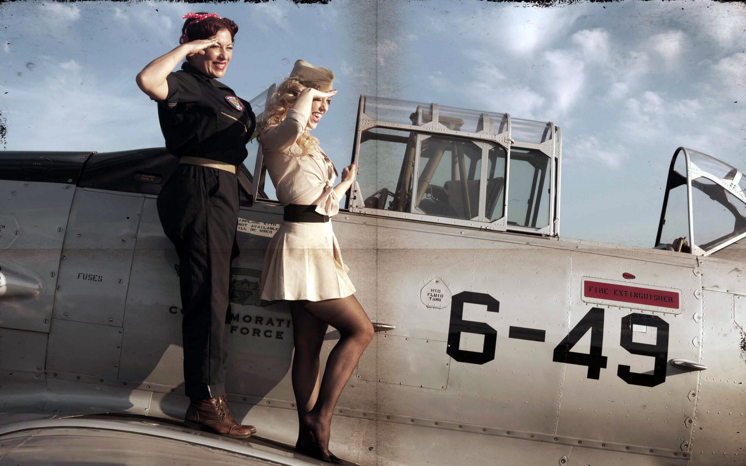 Airplane girls, comic books for young girls