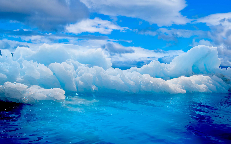 ледяные глыбы небо  № 2863231  скачать