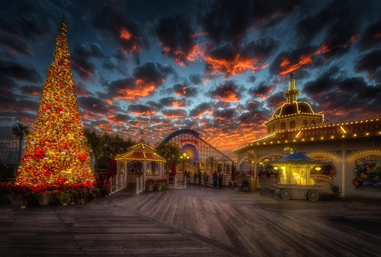 Рождественские Обои На Рабочий Стол Скачать Бесплатно