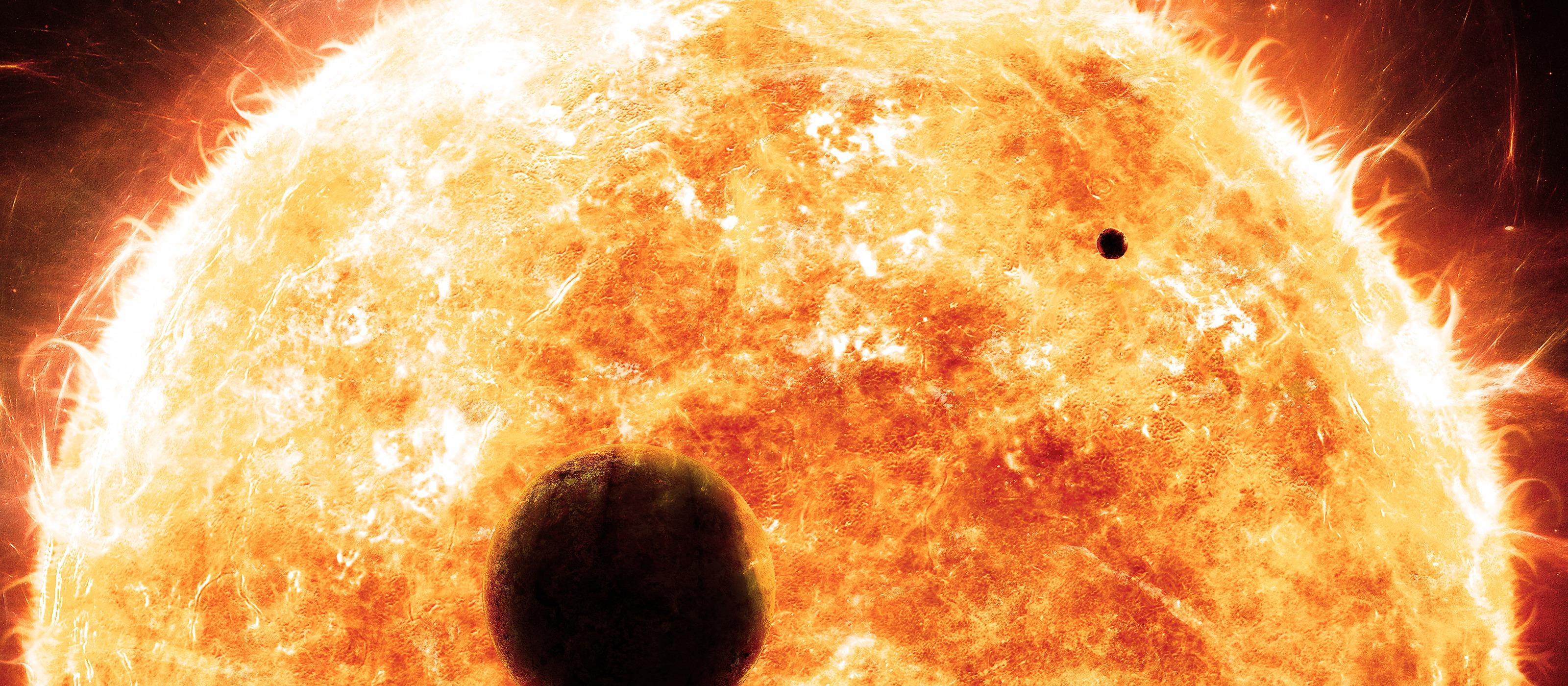 red giant sun - HD1920×1200