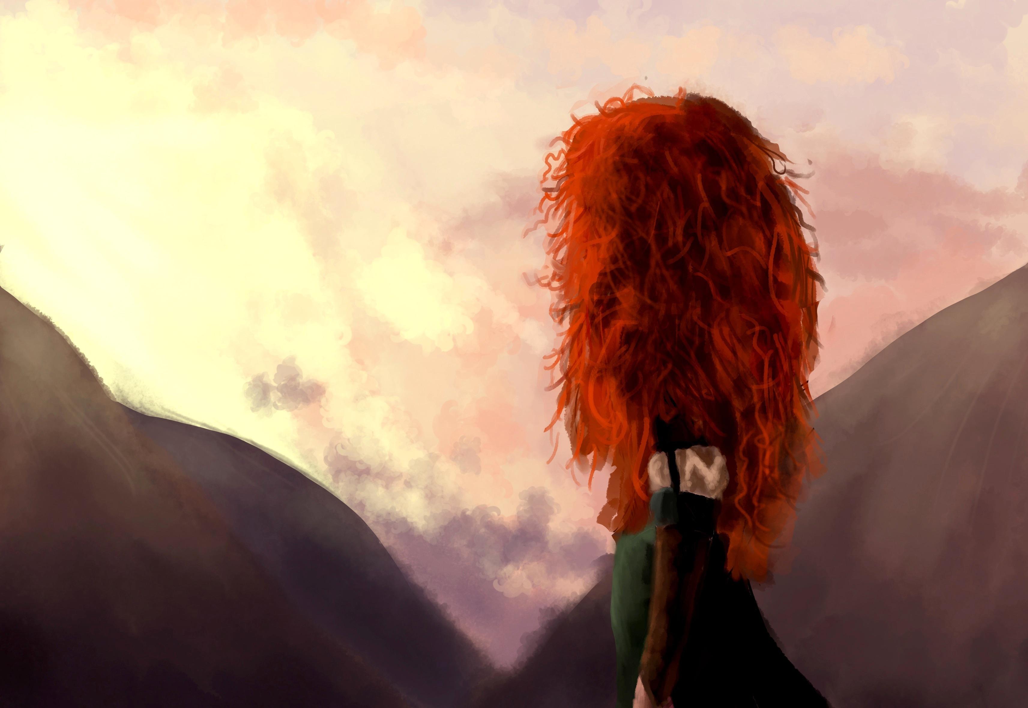 Фотографии девушек с рыжими волосами со спины, Рыжие девушки со спины (36 фото) 15 фотография