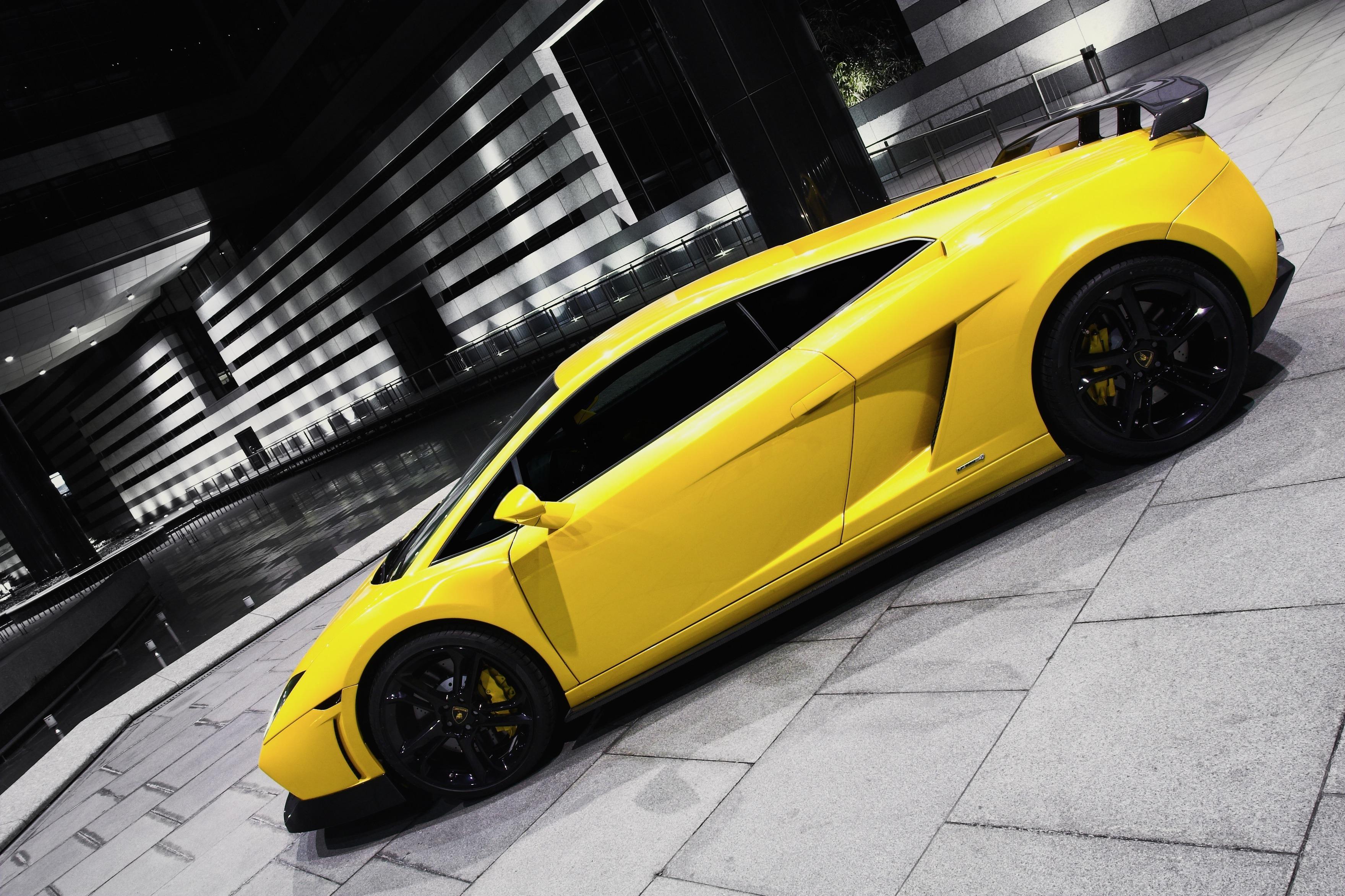 автомобиль желтый car yellow  № 546978 загрузить