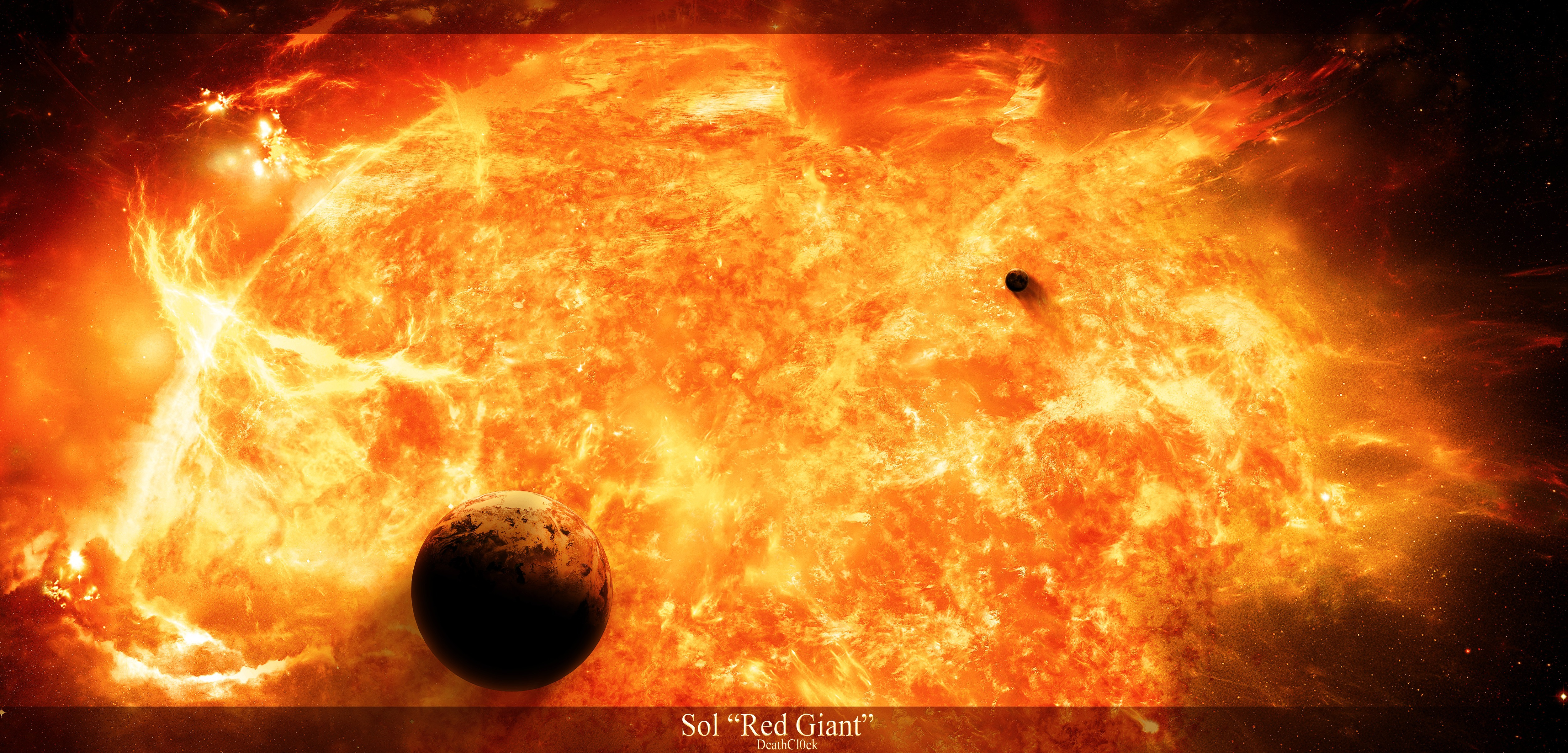 red giant star - HD5000×2400