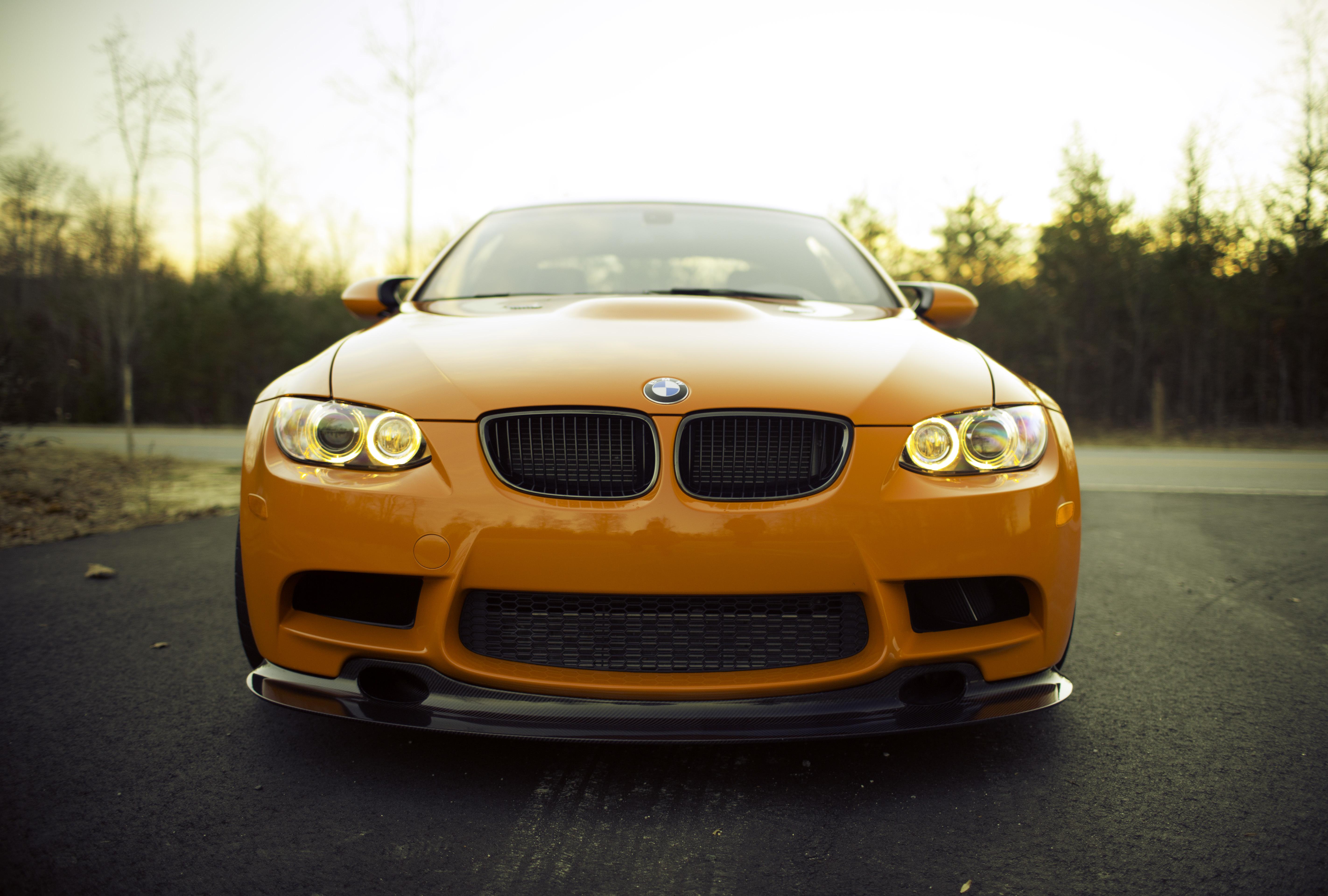 BMW перед оранжевая  № 843795  скачать
