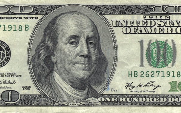 Фото обои green, United States, note, dollar, America, Franklin, public