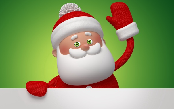 Фото обои новый год, рождество, christmas, new year, дед мороз, санта, santa claus