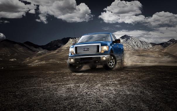 Фото обои машина, авто, горы, обои, джип, внедорожник, wallpaper