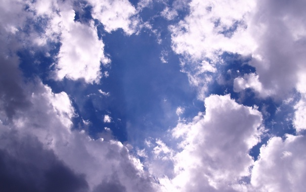Фото обои небо, облака, фото, обои, пейзажи, небеса, облако