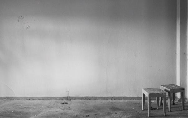 Фото обои комната, стена, мебель, интерьер, минимализм, атмосфера, стул