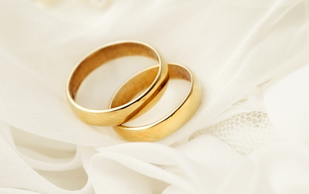 Фото обои украшения, кольца, ткань
