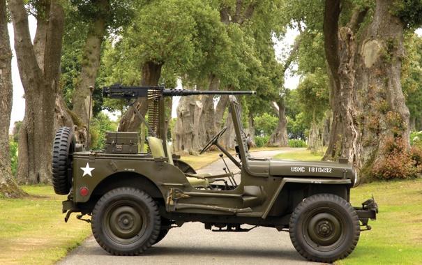 Фото обои jeep, willys, m38
