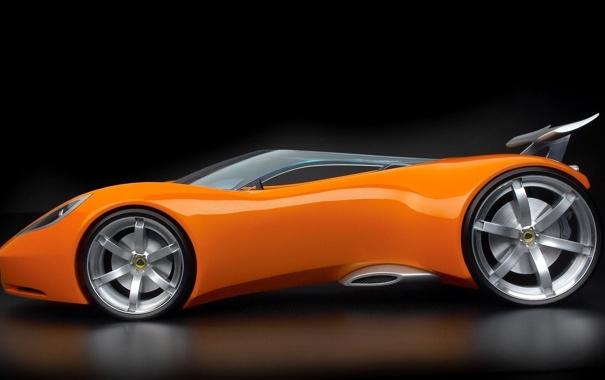 Фото обои Concept, Lotus, Концепт-кар
