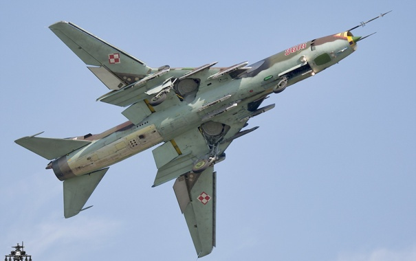Фото обои оружие, Polish Air Force, Sukhoi Su-22M-4K