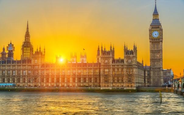 Фото обои мост, англия, лондон, london, темза, великобритания, bridge