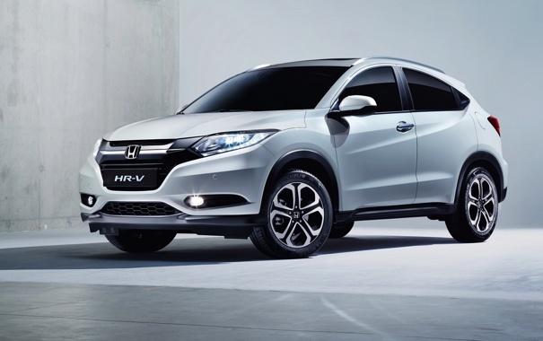Фото обои Honda, хонда, 2015, EU-spec, HR-V