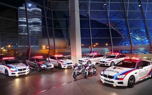 Фото обои BMW, Light, Glow, Gran Coupe, White, Tuning, Sedan