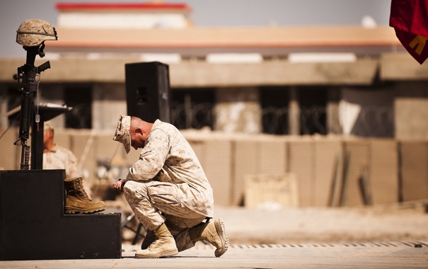 Фото обои смерть, прощание, солдат