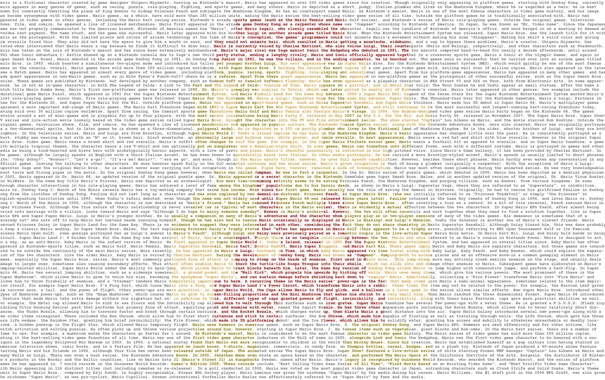 Фото обои текст, буквы, надпись, марио, mario