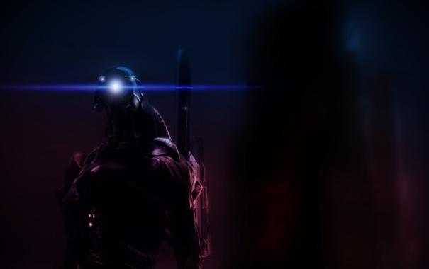 Фото обои легион, mass effect, geth, legion, гет