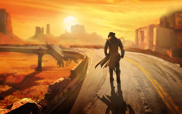 Фото обои DLC, дополнение, Fallout: New Vegas, Lonesome Road, add-on