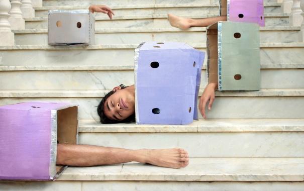 Фото обои рука, ситуация, голова, нога