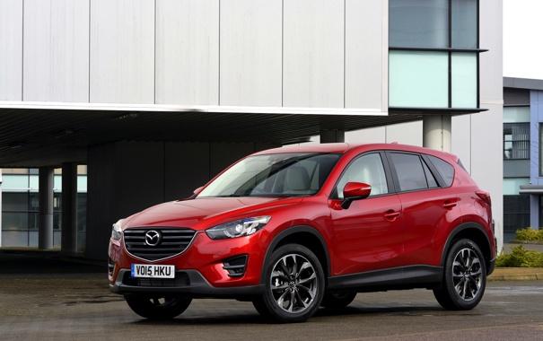 Фото обои Mazda, мазда, UK-spec, 2015, CX-5