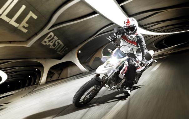 Фото обои мотоциклы, мото, Yamaha, moto, motorcycle, кросс