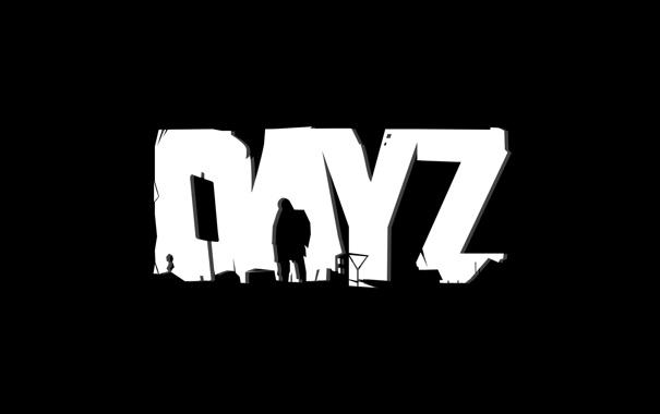 Фото обои логотип, logo, минимал, DayZ, mmo, день зет, дэйз