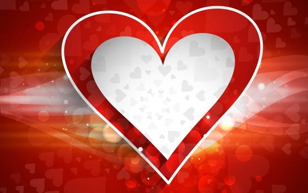 Фото обои линии, сердце, сердечки
