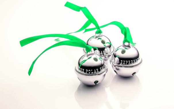 Фото обои колокольчики, Jingle Bells, Polar Express, праздник