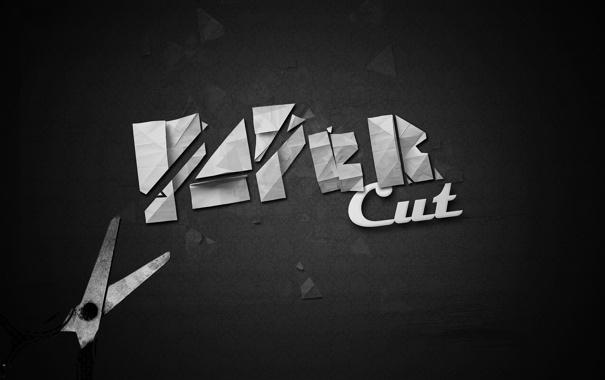 Фото обои Paper, ножницы, cut