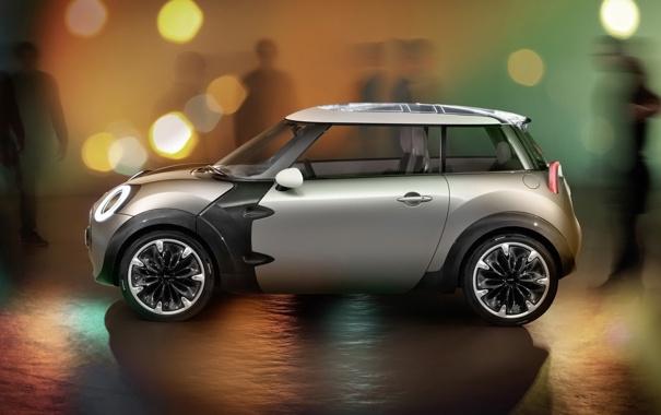 Фото обои будущее, мини, concept, автомобиль, mini, autowalls