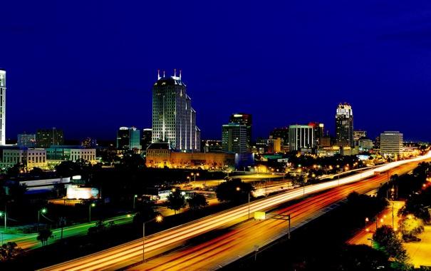 Фото обои город, city, Orlando, Florida, USA