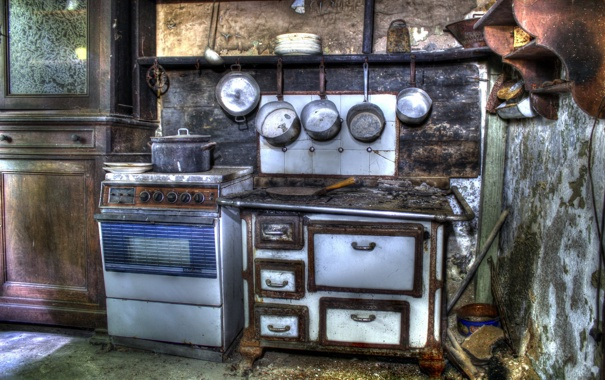 Фото обои фон, кухня, посуда