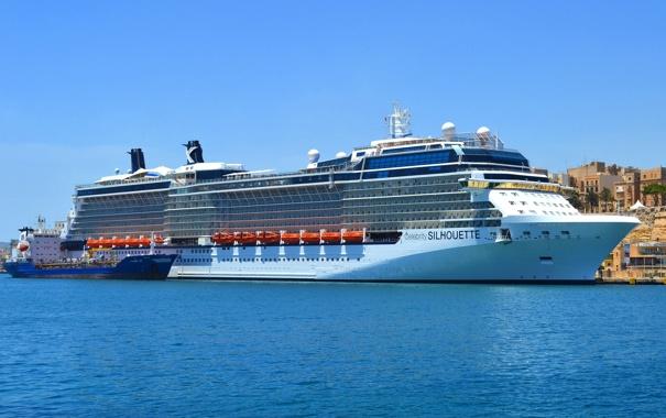 Фото обои фото, корабль, круизный лайнер, Celebrity Silhouette