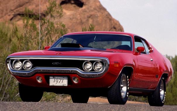 Фото обои машина, авто, фото, двигатель, обои, тачка, красная