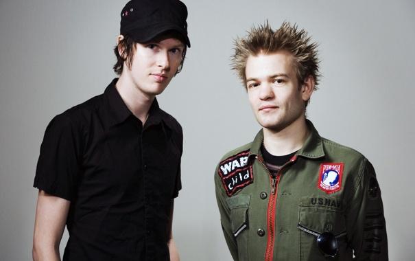 Фото обои Punk, Deryck Whibley, Jason McCaslin, Sum 41