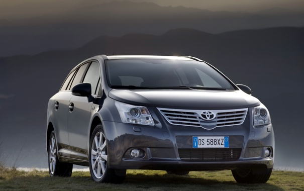 Фото обои машина, авто, toyota, 2009, тойота, wagon, универсал