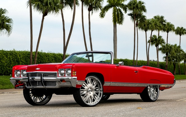 Фото обои Chevrolet, шевроле, Impala, импала